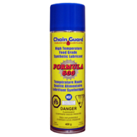 Chain Guard Food Grade H1 CFIA Formula 600 High Temperature Spray Lubricant - Case of 12 x 400 g